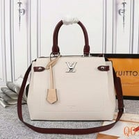 HCXX 19Aug 031 M53647 Louis Vuitton LV Lockme Day Fashion Tote Bag Hight-capacity Handbag Size 31-24-16cm