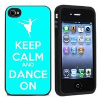 Keep Calm and Dance On Case / Cover For Apple iPhone 4 or 4s by Atomic Market