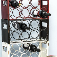 ModCloth Urban Wine, Two, Three Wine Rack