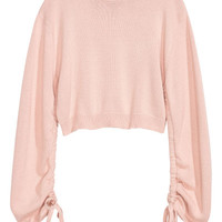 Sweater with Drawstring - from H&M