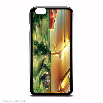 Hulk Vs Hulkbuster Marvel Comics Characters Case For Iphone Case
