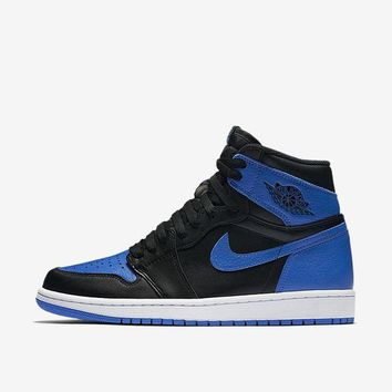 PEAPN6X NIKE AIR JORDAN 1 RETRO HIGH OG ROYAL BLUE US 11 100 % Authentic 555088-007