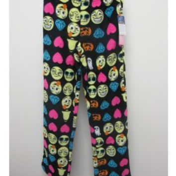 SO NIKKI GIRLS Emoji PJ Pants - Sleepwear - Tweens & Juniors