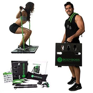BodyBoss Home Gym 2.0 - Full Portable Gym Home Workout Package