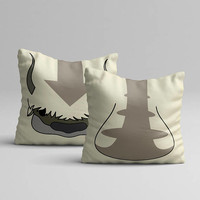 Avatar State, Air Nation, The Last Airbender, The Legend Of Korra, Bed Pillow, Best Pillow, Cute Cushion, Fanart Geeky, Cool Gift, Under 50