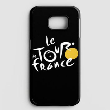 Le Tour De France Bicycle Bike Cycling Samsung Galaxy S7 Edge Case