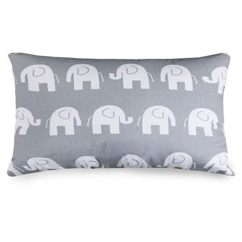 Gray Ellie Small Pillow