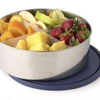 Big Bowl with Divider - Navy