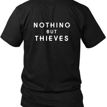 Nothing But Thieves Title 2 Sided Black Mens T Shirt