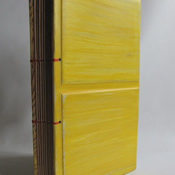 Yellow blank wood from reclaimed wood