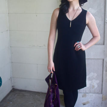 Early 90's City Triangles USA-made Black Dress