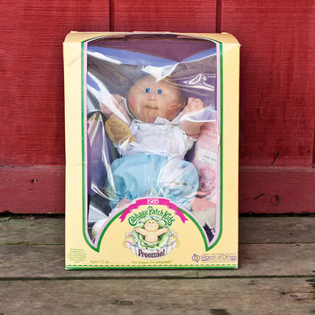 Coleco Cabbage Patch Kids Doll Preemie New, Original 1985 Averil Erma, March of Dimes Edition