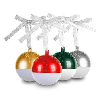 XMas Ornament Music Player BT Speaker And Lights