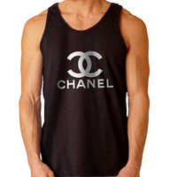 Chanel New For Mens Tank Top Fast Shipping For USA special christmas ***