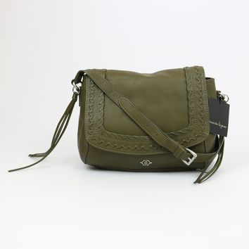 Nanette Lepore Cortina Flap Olive Crossbody