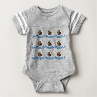 BABY FOOTBALL BODY SUIT BABY BODYSUIT