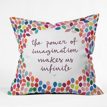 Garima Dhawan Imagination Throw Pillow