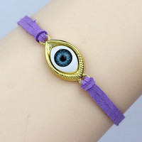 Evil eye bracelet Four eyes to select and 22 cords to select