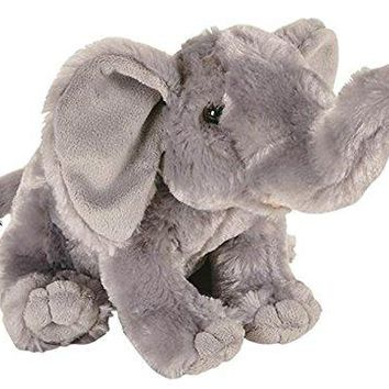 "Wildlife Tree 8"" Elephant Stuffed Animal Plush Floppy Zoo Animal Den Collection"