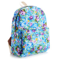 Korean Lovely Cute Canvas Backpack = 4887592324