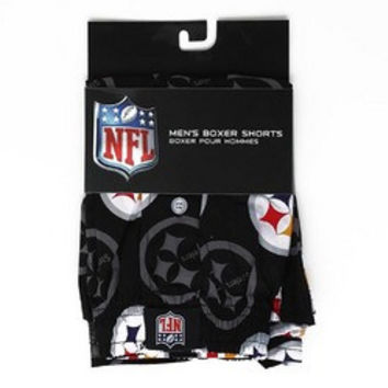 NFL Pittsburgh Steelers Men's Boxer Shorts [Medium]