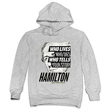 CRIS Musicals Hamilton Hoodie Ash For Men