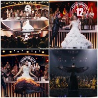 Catching Fire Interview   via Facebook - image #884398 by awesomeguy on Favim.com