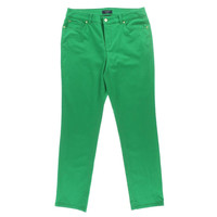 Charter Club Womens Tummy Slimming Modern Fit Ankle Pants