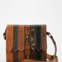American Vintage Tooled Belt Messenger Bag - Urban Outfitters