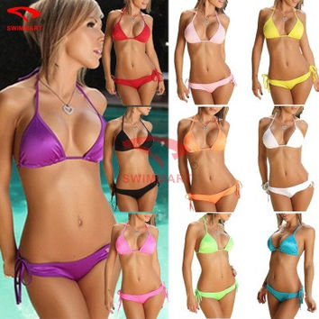 Sexy Erotic Two Piece Bikini Swim Suit Beach Bathing Suits Swimwear _ 5639