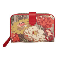 View All | Autumn Bloom Small Leather Trim Wallet | CathKidston