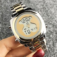 TOUS Fashion New Dial Big Bear Women Men Watch Wristwatch