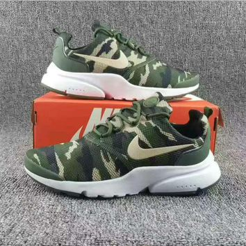 NIKE V3 Casual Sports Shoes running shoes Sneakers Camouflage green H-CSXY