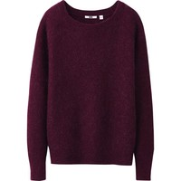 WOMEN MOHAIR BLENDED SWEATER | UNIQLO