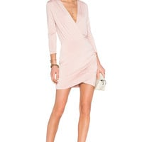 Lovers + Friends x REVOLVE Love Happy Dress in Mauve
