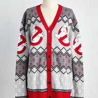 Vintage Inspired Mid-length Long Sleeve Hello? Boo's There? Cardigan