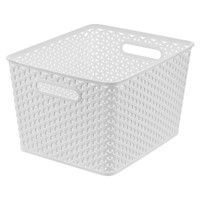 Room Essentials™ Y-Weave Large Storage Basket - Set of 4