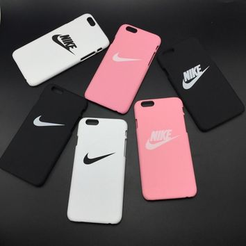 "The New ""Nike"" Printed Iphone 8 8 Plus & 7 7plus & 6 6s Plus Cover Case + Nice Gift Box"