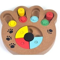 Interactive Wooden Puzzle for Pets