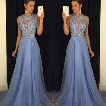 2018 Newest Sexy Solid Women Long Party Ball Prom Gown Formal Bridesmaid Lace Dress