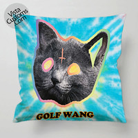 Ofwgkta Odd Future Tron Cat Tie pillow case, cover ( 1 or 2 Side Print With Size 16, 18, 20, 26, 30, 36 inch )