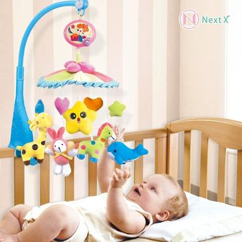 NextX Crib Electric Musical Mobile Baby Cot 20 Lullabies Rotating Toy