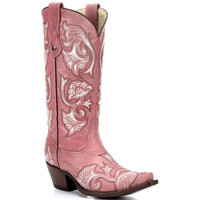 G1087 Corral Women's Floral Western Boots from Bootbay, Internet's Best Selection of Work, Outdoor, Western Boots and Shoes.