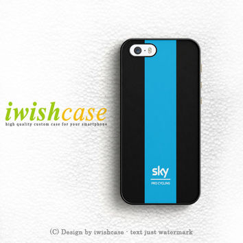 Team Sky Bike Pro Cycling iPhone 5 5S 5C Case Cover