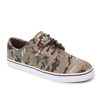 Adidas Seeley Camo Canvas Shoes - Mens Shoes - Camo