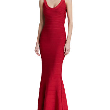 Ariana Scoop Neck Bandage Gown