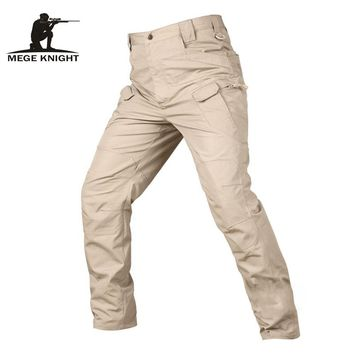 Tactical Camouflage Military Clothing Cargo Pants Ripstop Water Repellent men's Combat Trousers