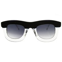 Oversize Thick Frame Designer Inspired Horned Rim Sunglasses 8519
