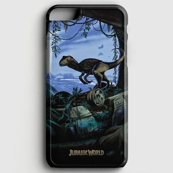 Jurassic World Velociraptor iPhone 8 Case