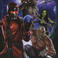 Guardians of the Galaxy Marvel Comics Poster 22x34